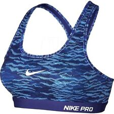 NIKE PRO Classic Padded Reflect Women's Sports Bra Yoga Running Workout  Large