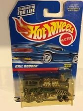 Hot Wheels Grey Rail Rodder Engine #5 collector # 850 - NICE TRAIN!!