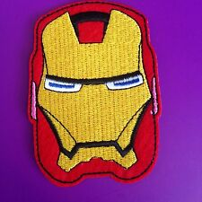 IRON MAN PATCH.MARVEL COMICS SUPERHERO CARTOON TV Movie Cosplay Costume Party