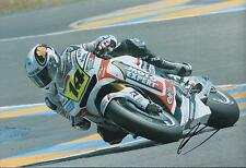 Randy De Puniet Autograph MotoGP Factory HONDA SIGNED 12x8 Photo AFTAL COA Rare