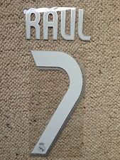 Real Madrid Away 2006/07 RAUL 7 name and number kit