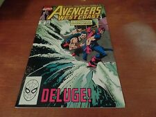 The Avengers West Coast #59 Marvel Comic Book #C51