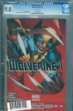 Wolverine Vol 5 #1 DF Regular Alan Davis Cover CGC 9.8 Marvel Comics