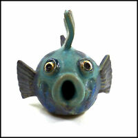 Little Puffer Fish by Maggie Betley from Zoo Ceramics - Original Handmade Art