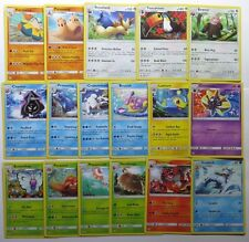 COMPLETO di sole e luna Set Base rara pokemon card Set