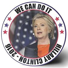 """HILLARY CLINTON 2016 """"WE CAN DO IT"""" 12"""" VINYL PICTURE DISC LP USA PATRIOTIC SONG"""