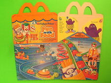 1989 McDonalds HM Box - Fun With Food - Making a Splash