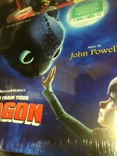 """""""HOW TO TRAIN YOUR DRAGON"""" VINYL LP DRAGON-EYE GREEN RECORD STORE DAY 2016"""