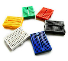 6pcs 6 Colors SYB-170 Mini Bread Board Prototype Tie-point Clipped Together