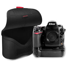MATIN Neoprene DSLR SLR Camera+Battery Grip Soft Body Case Pouch Bag (XL/Black)