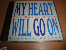 TITANIC song REMIX single MY HEART WILL GO ON 5 track CD James Horner Lea DeCapo