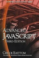 Advanced JavaScript, Third Edition, Easttom, Chuck, New Book