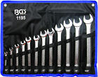 """BGS Germany 12-pcs Open and Ring Ended Spanner Set 1/4""""-15/16"""" SAE Imperial A+++"""