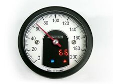 Motogadget Motoscope Tiny Speedo - Black Cafe Racer Motorcycle
