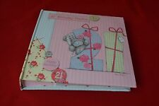 ME TO YOU BEAR TATTY TEDDY 21ST BIRTHDAY PHOTO ALBUM GIFT
