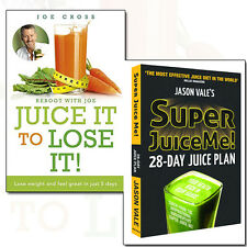 Jason Vale Juice Plan Collection 2 Books Set Super Juice Me!,Juice It To Lose It
