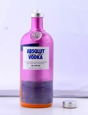 VODKA ABSOLUT  EMPTY BOTTLE, 750ml A UNIQUE LIMITED EDITION ITEM No.3178933