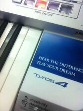 "For YAMAHA Tyros 4 Keyboard ""Sticker"" Hear the difference+Volume protection"