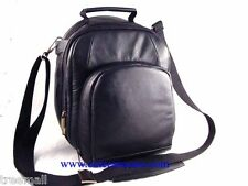 Special Design SLR Camera Genuine Leather BackPack Black Color