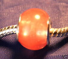 Red Charry Quartz Crystal Charm Bead Reiki Empowered