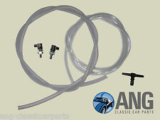 TRIUMPH SPITFIRE, GT6 WINDSCREEN WASHER TUBING & WASHER JETS (x 2) KIT