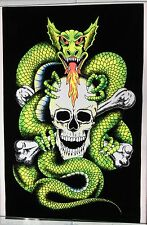 Black Light Poster Dragon Skull Black Light Scorpio Posters 2002 #1823