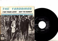 YARDBIRDS 7'' PS For Your Love SWEDEN DB 7499 ULTRA RARE Swedish UNIQUE cover 45