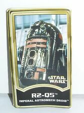 Star Wars Force File Insert for R2-Q5 Power of the Jedi POTJ 2001