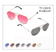 wholesale 12ps OCEAN LENS AVIATOR sunglasses FOR UNISEX