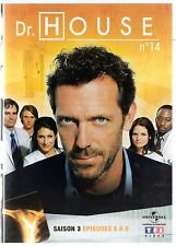 Dr HOUSE - Intégrale kiosque TF1 Video - Saison 3 - dvd 14 - Episodes 5 à 8