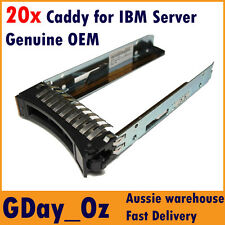 "20x 2.5"" IBM Server HDD Caddy Tray Sled 44T2216 for System x and BladeCenter"