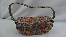 Silk Chinese Sculpted Shaped Purse Handbag - Special Item - Vintage 1953