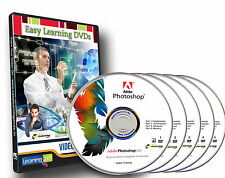 Master of Photoshop CS6 complete 4 courses on 5 Video DVDs Pack