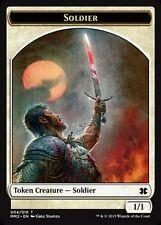 4x TOKEN Soldato - Soldier 1/1 MTG MAGIC MM2 Modern Masters 2015 Eng