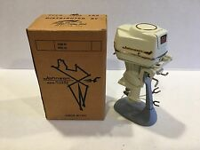 Vintage 1959 Johnson 50hp Super Sea Horse Toy Outboard Motor w/Box & Stand