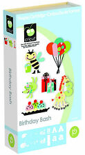 *New* BIRTHDAY BASH Font Party Bday Cricut Cartridge Factory Sealed Free Ship