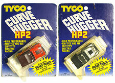 2pc 1980 TYCO HP2 Slot Car Jeep Silver Anniv. CJ CJ7 Off Road Wrangler 6949 6950