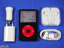 APPLE IPOD CLASSIC U2 VIDEO 30 GB NERO 5° RARO DA COLLEZIONE GEN MOD: MA664TY