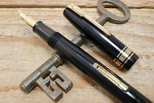 Waterman W5 Fountain Pen In Black With Gold Plated Trims -'C1946