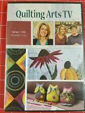 NEW Quilting Arts TV with Pokie Bolton Series 1100 Episodes 1-13 DVD