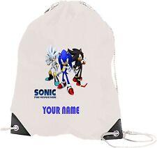 Sonic the hedgehog gym/natation/danse/pe sac