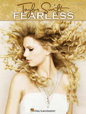TAYLOR SWIFT FEARLESS EASY GUITAR TAB SONG BOOK NEW