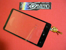 Kit VETRO+ TOUCH SCREEN per HTC HD7 T9292 LITE LCD DISPLAY NERO COVER Nuovo