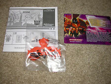 Transformers Botcon 2008 Exclusive Shattered Glass Divebomb minicon micron