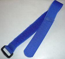 Ruban-crochet Collier De Serrage Crampon Pince Câble 30cm 300mm x 20mm Bleu