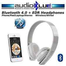 Wireless Bluetooth 4.0 HIFI Stereo Headset/Headphones-Phones/Devices Mic MP3/MP4
