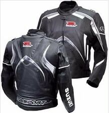 SUZUKI GSXR Mens Biker Racing Motorbike Leather Jacket Motorcycle Leather Jacket