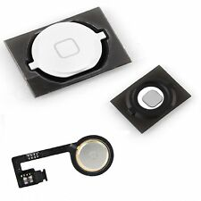 NEW Replacement White Home Button With Flex Cable, Seal & Spacer For iPhone 4S