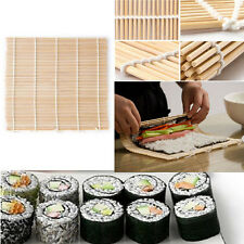 non-stick DIY Sushi Rolling Maker Bamboo Material Roller Mat Kitchen 24*24cm