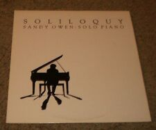 Soliloquy Sandy Owen~Solo Jazz Piano~Ivory Records~FAST SHIPPING!!!